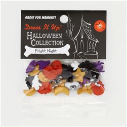 Dress It Up Embellisment Buttons  Fright Night