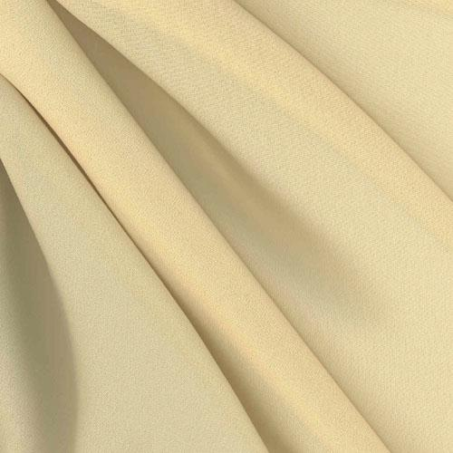 Chiffon Fabric Pale Gold
