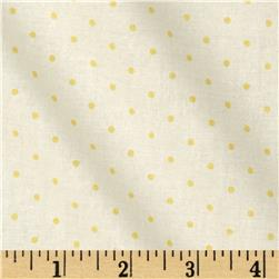 Bon Bon Bebe Polka Dot Cream/Yellow Fabric