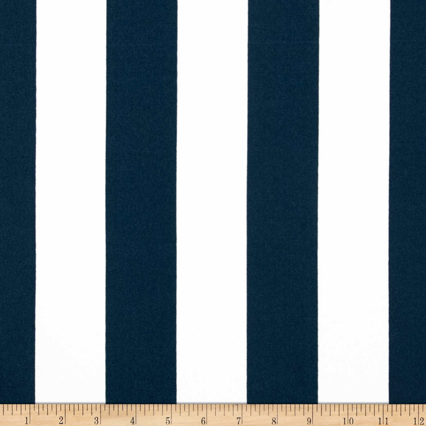 Premier Prints Indoor/Outdoor Premier Stripe Oxford Blue/White