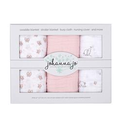 Shannon Embrace Double Gauze Swaddle 3 Pack Bunny
