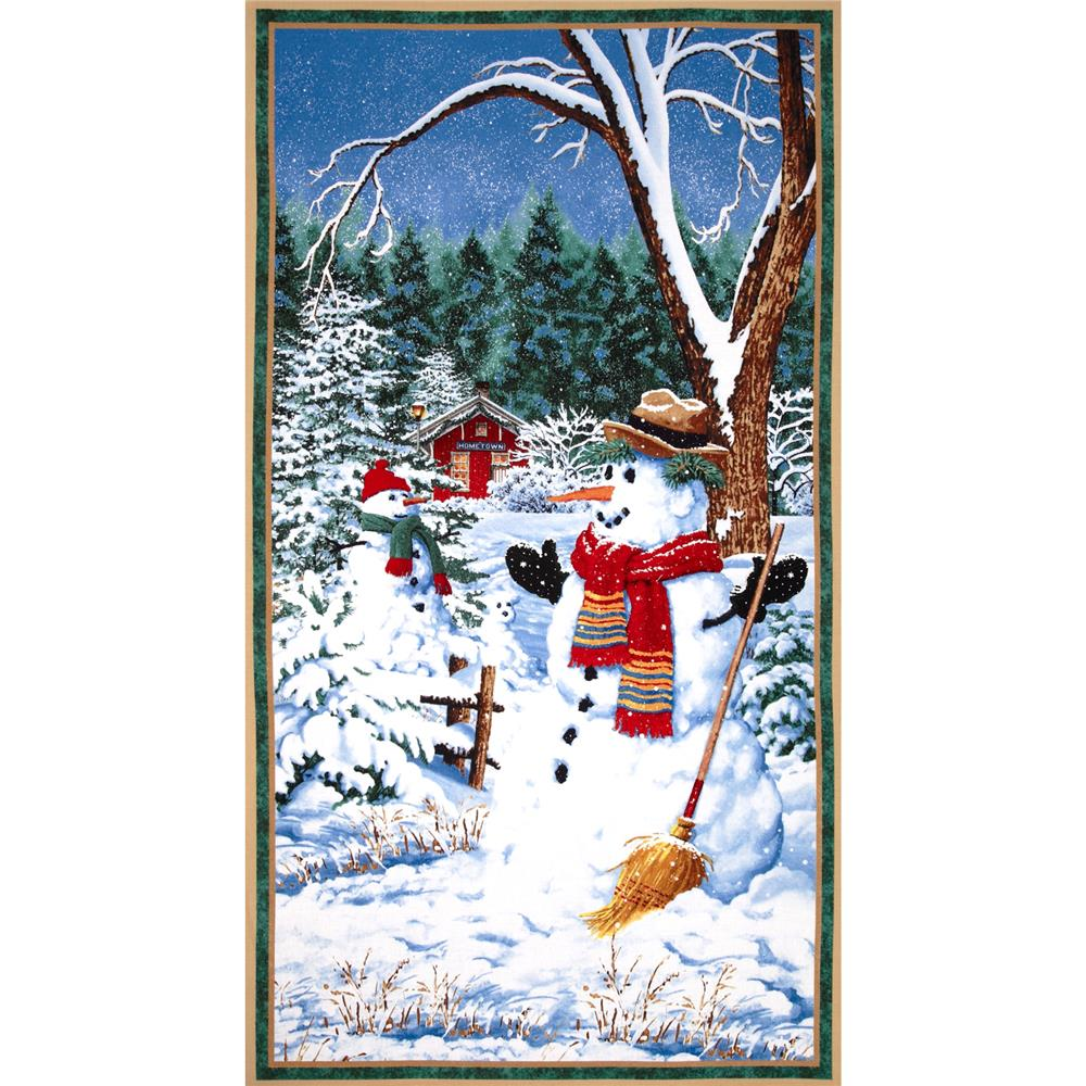 Snow Day Scenic Large Panel Multi