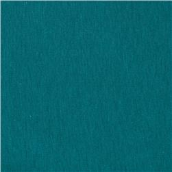 Cotton Spandex Jersey Knit Solid Soft Teal