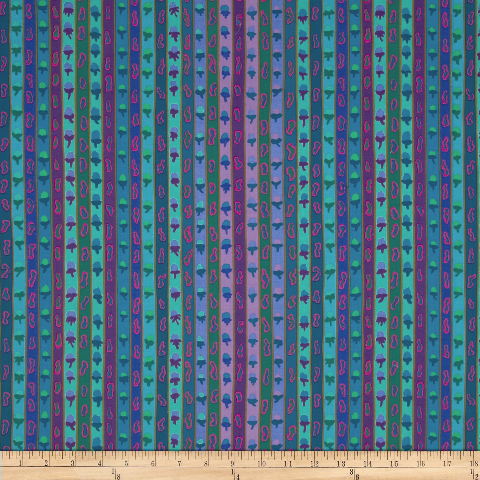 Kaffe Fassett Spring 2013 Collection Ribbon Stripe Blue