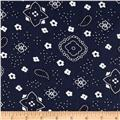 Bandana Prints Navy
