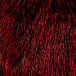 Luxury Faux Fur Monster Black Blood