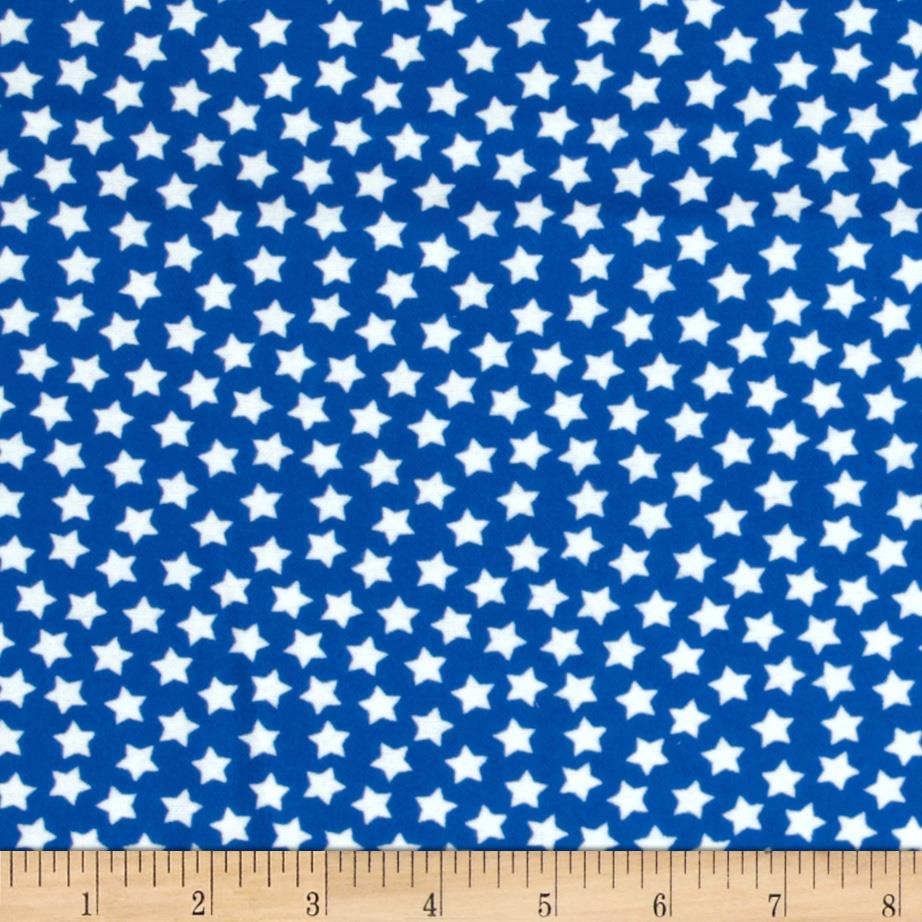 Camelot Flannel Stars Royal