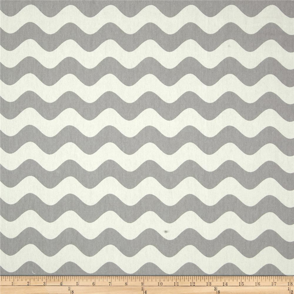 Riley Blake Home Decor Wave Gray