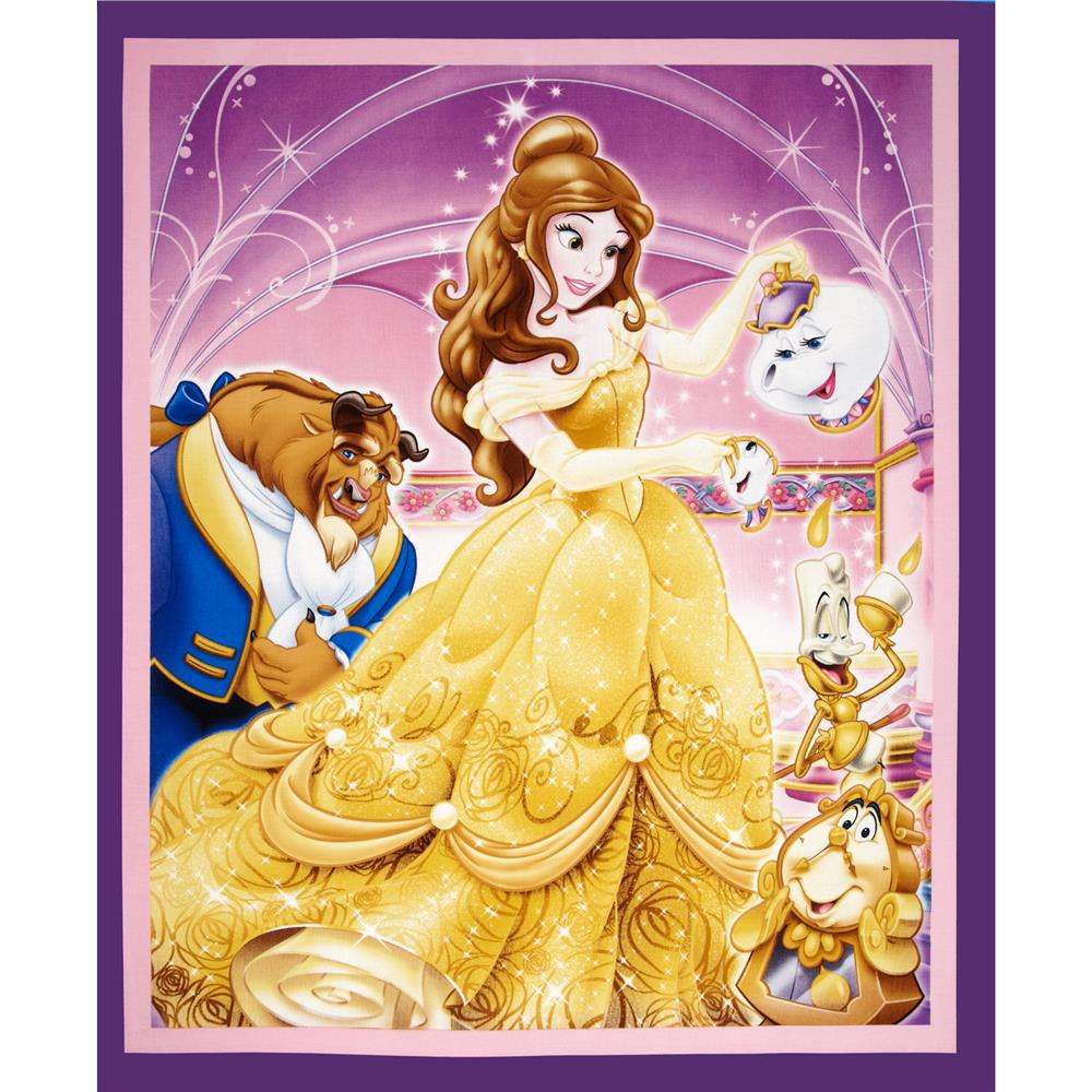 Disney Beauty & The Beast 36 In. Panel