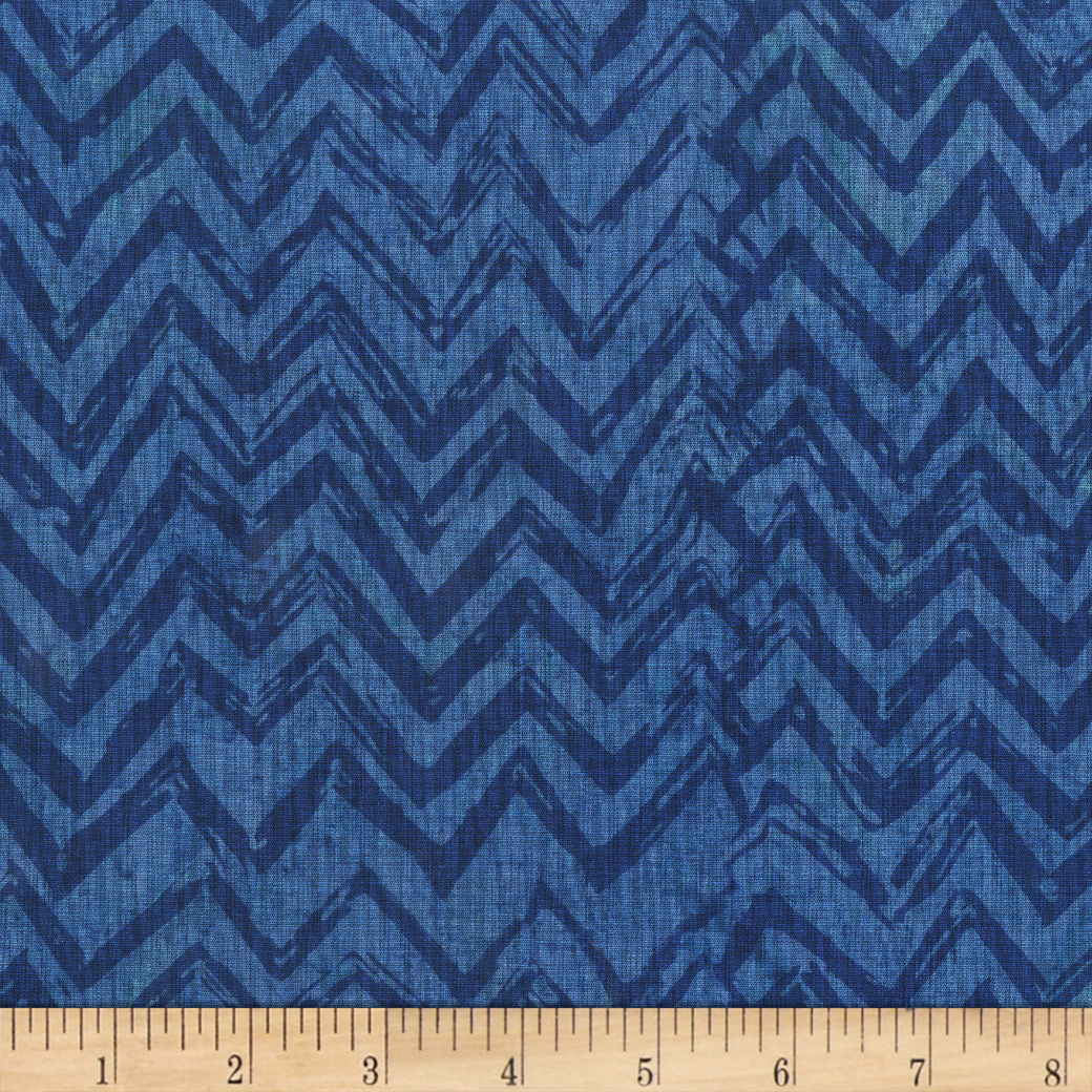 Anthology Batiks Chevron Scuba