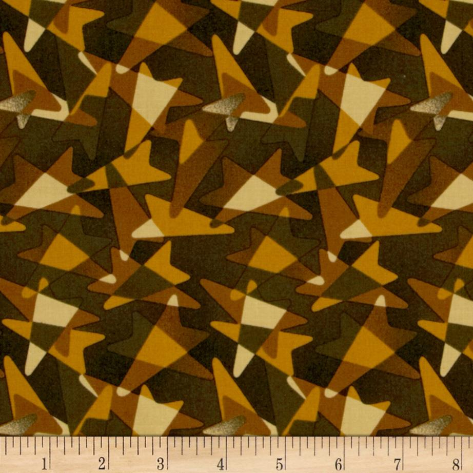 Jazz Geometric Black/Brown