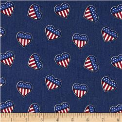 Fashion Printed Denim- Patriotic Summer