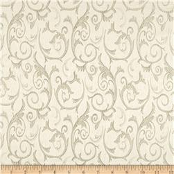 Scroll Brocade Cream