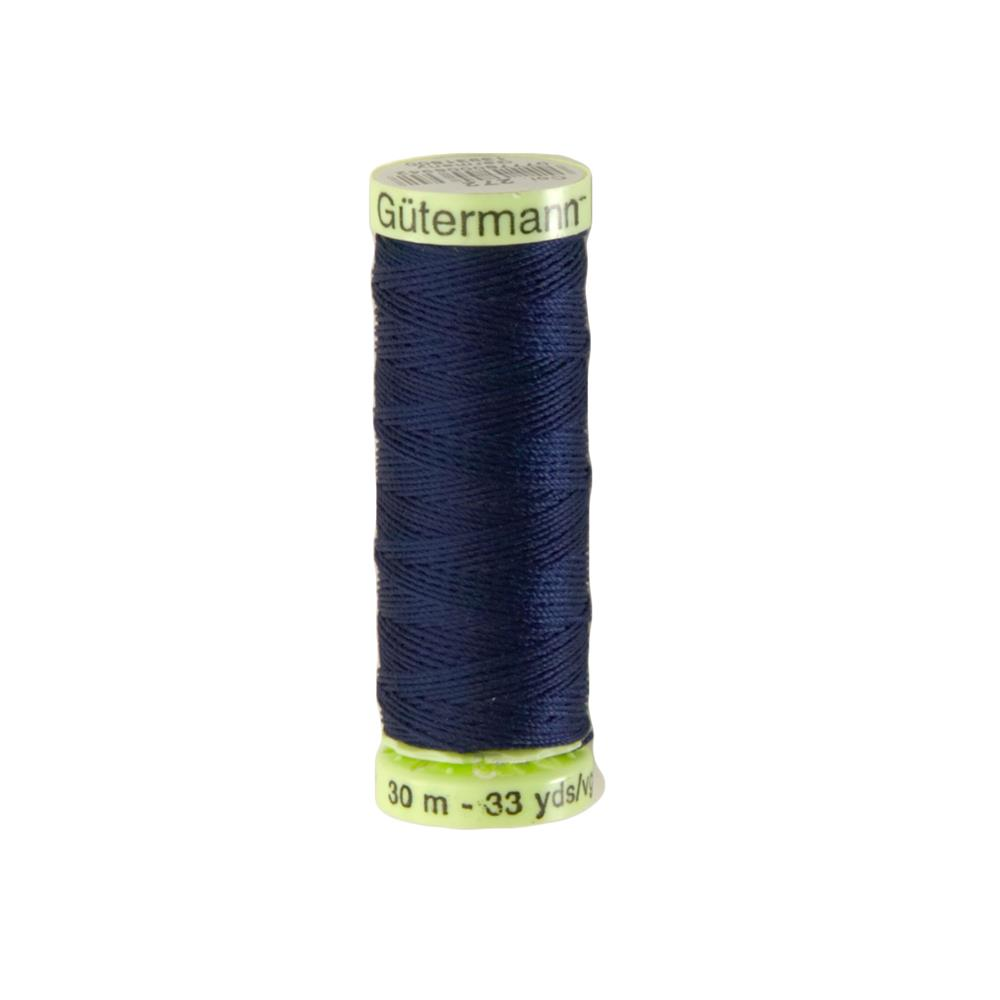 Gutermann Heavy Duty Polyester Topstitching Thread 30m/33yds Navy