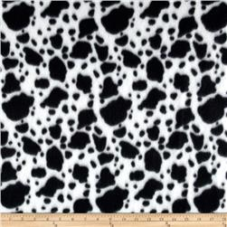 Fleece Skins Cow Black/White