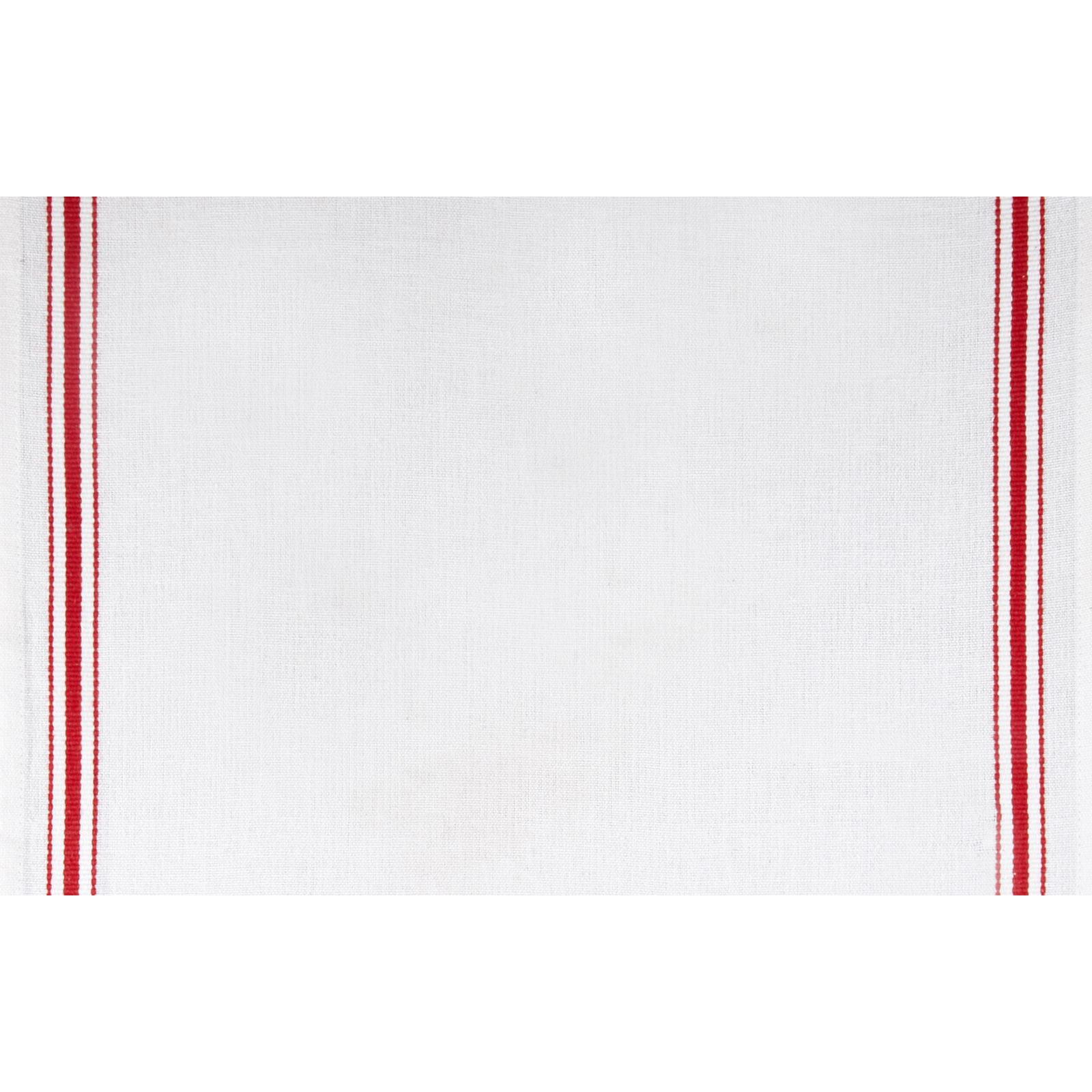 Moda Toweling Christmas Stripe White/Red Fabric By The Yard