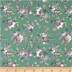Primrose Floral Spray Green