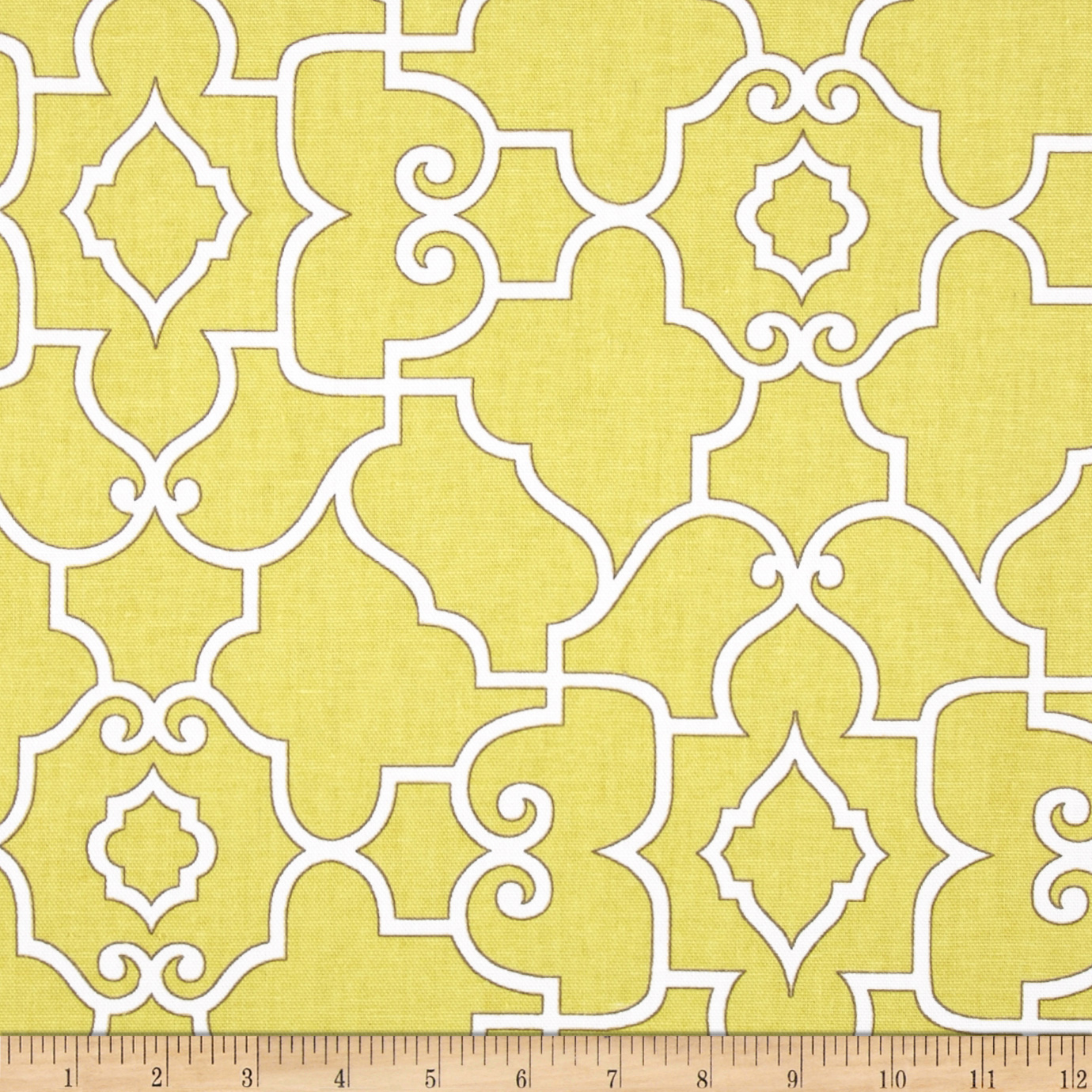Covington Windsor Mustard Fabric