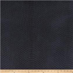Richloom Tough Faux Leather Safari Navy