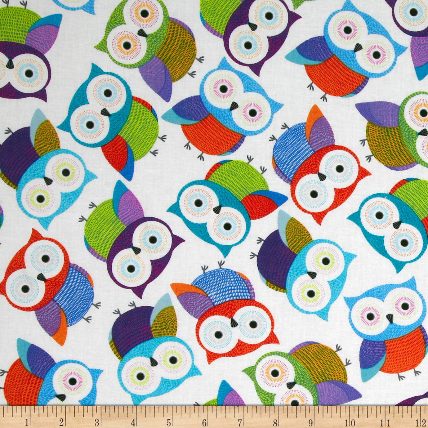 Foxy Owl Owls White
