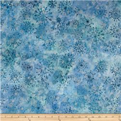 Robert Kaufman Artisan Batiks Metallic Noel Small Flake Medallion Copen