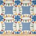 "60"" Aunt Grace Backing/Cheater Quilt Blue"