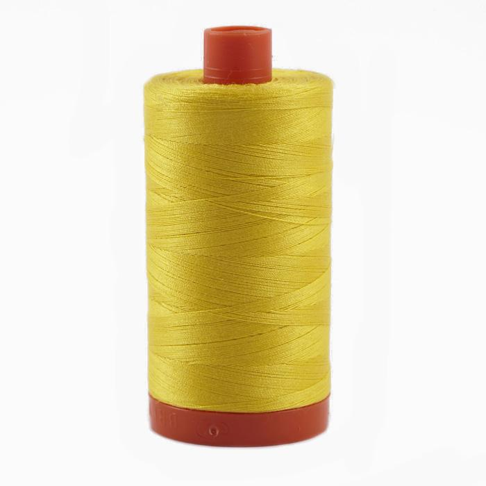 Aurifil Quilting Thread 50wt Canary