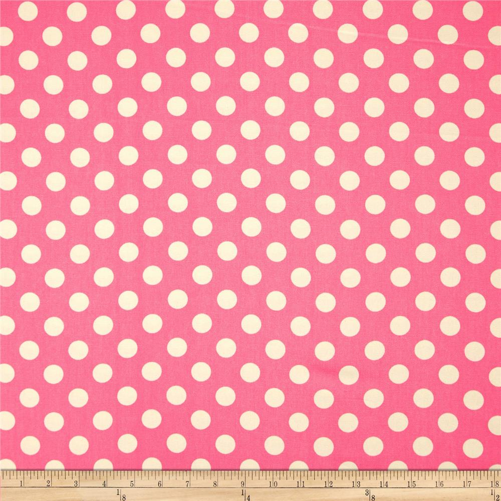 Riley Blake Home Décor Dots Hot Pink