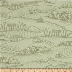 Vineyard Haven Vineyard Scenic Toile Sage Green