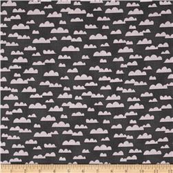 All Afloat Clouds Dark Gray