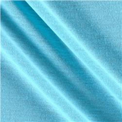 Poly Jersey Knit Solid Aqua