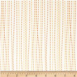Moda Dot .Dot.Dash-! Dot Stripe Orange