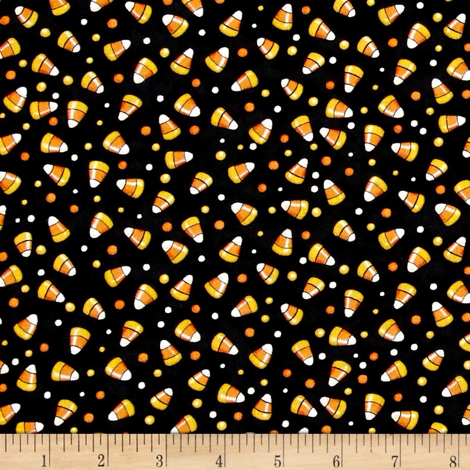 Creepy Hollow Candy Corn Black