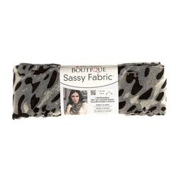 Red Heart Boutique Sassy Fabric Snow Leopard