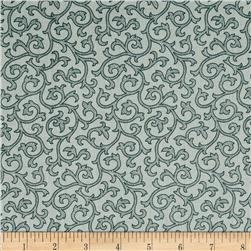 Daisy Mae Joy Dove Fabric