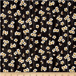 Paloma Flowers Black