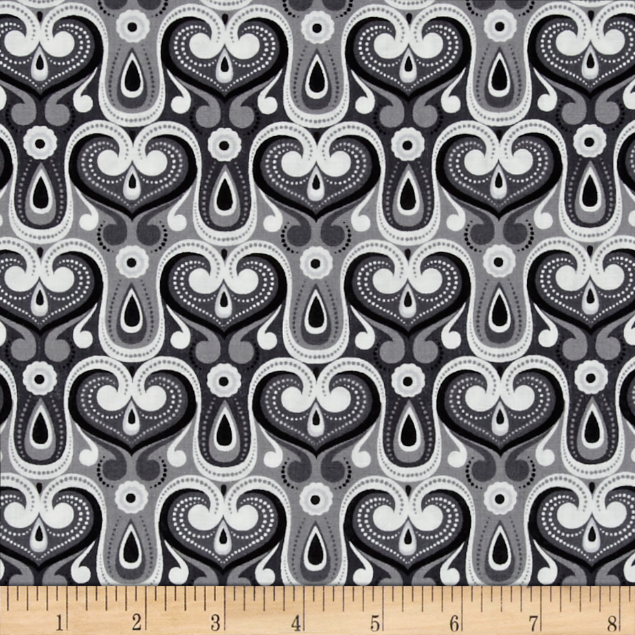 Grace Grey Fabric by David in USA