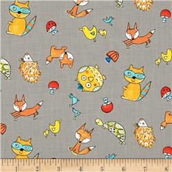 Fox Playground Animal Toss Grey