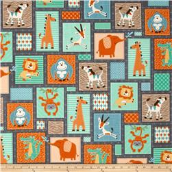 Swinging Safari Patchwork Multi