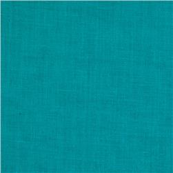 Linen/Cotton Voile Teal