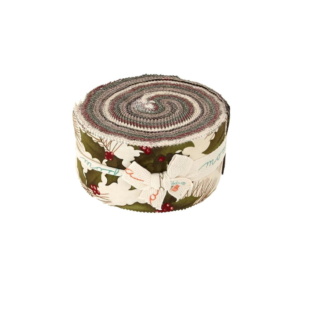 Moda Winter's Song 2.5 In. Jelly Roll Multi