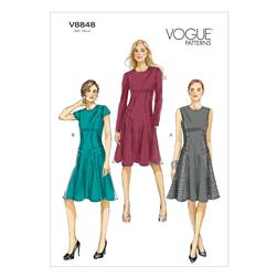 Vogue Misses' Dress Pattern V8848 Size A50