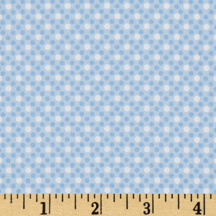 Michael Miller Dim Dots Boy Fabric