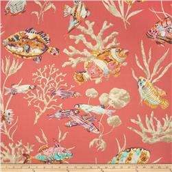 P Kaufmann Fisherman's Find Twill Red Snapper Fabric