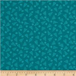 Bread & Butter Fiesta Triangles Teal