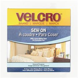 Velcro Sew On Tape Roll 3/4'' x 10