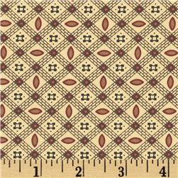 Harvest Palette Plaid Geometric Brown