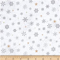 Woodland Wonder Snowflake Grey