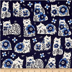 Cotton + Steel From Porto With Love Sushi's Antiques Navy