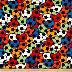 Whisper Plush Fleece Soccer Stadium Primary
